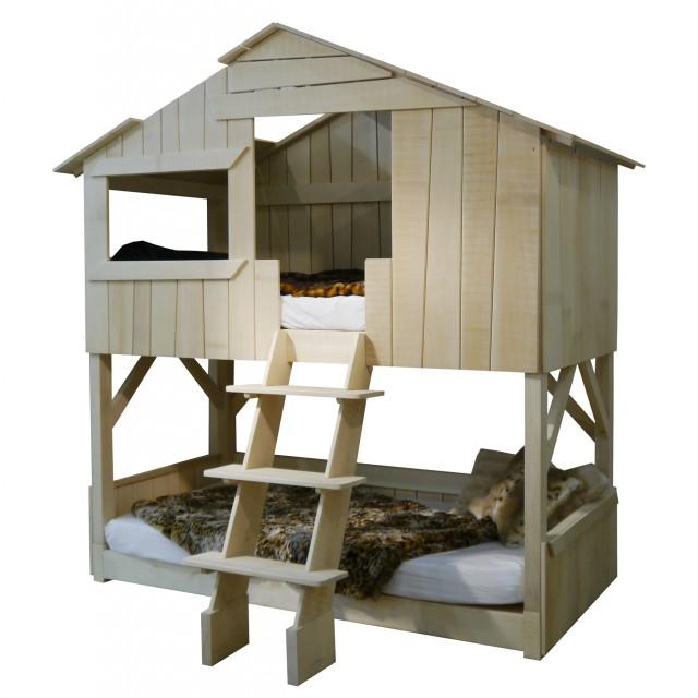 houten kinderspeelparadijs en bed